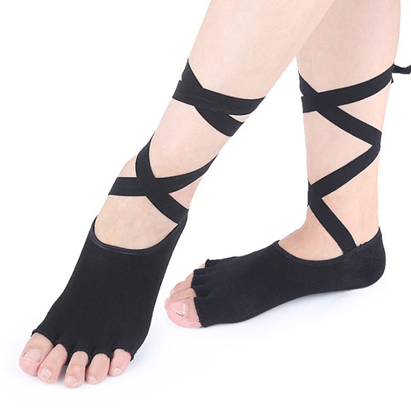 New Arrival Daily Use Hot selling spandex fibre yoga socks ZG -S15